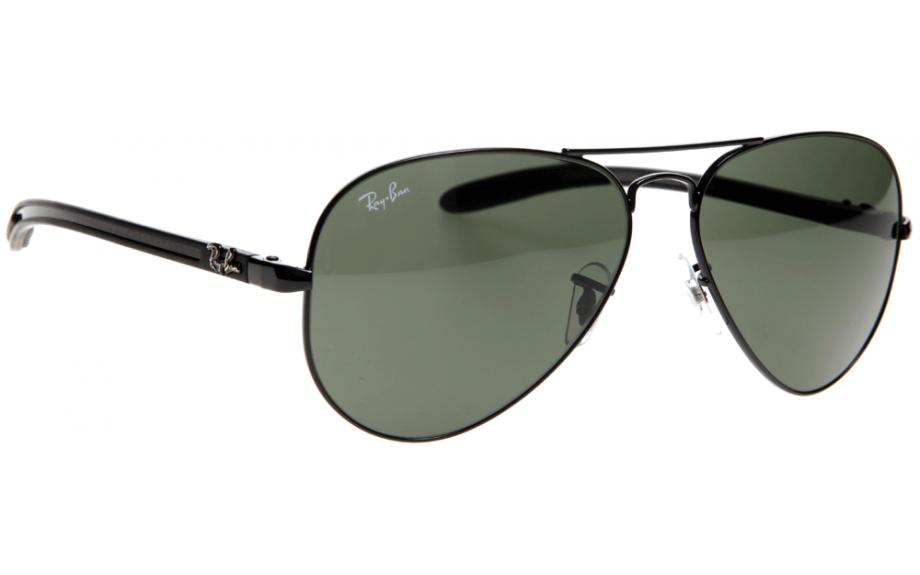 f3583ac1c Ray-Ban Aviator Carbon Fibre RB8307 002 55 Sunglasses - Free Shipping |  Shade Station