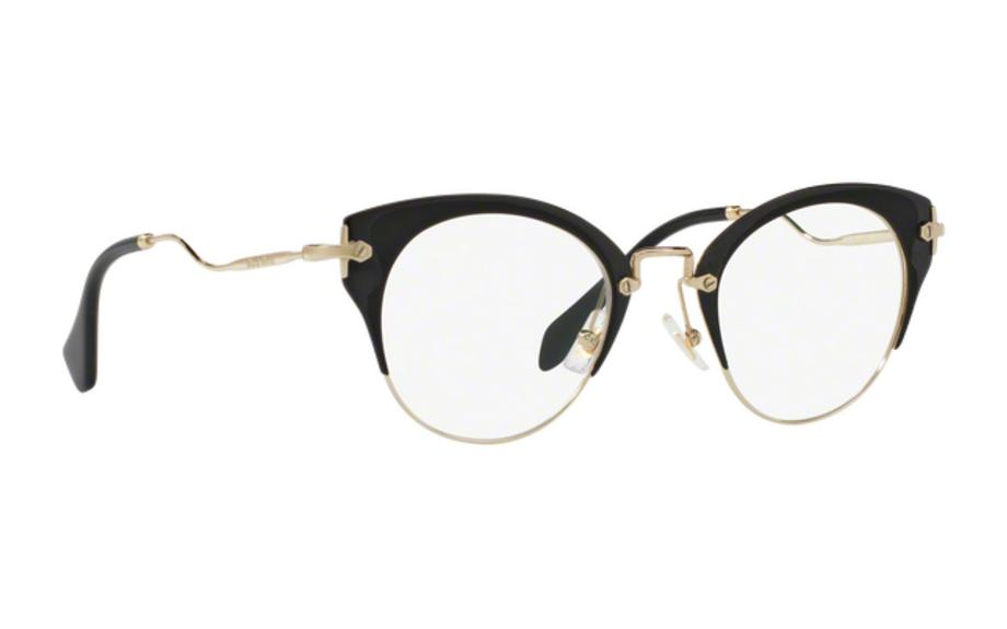 Miu Miu MU52PV 1AB101 48 Glasses - Free Shipping | Shade Station