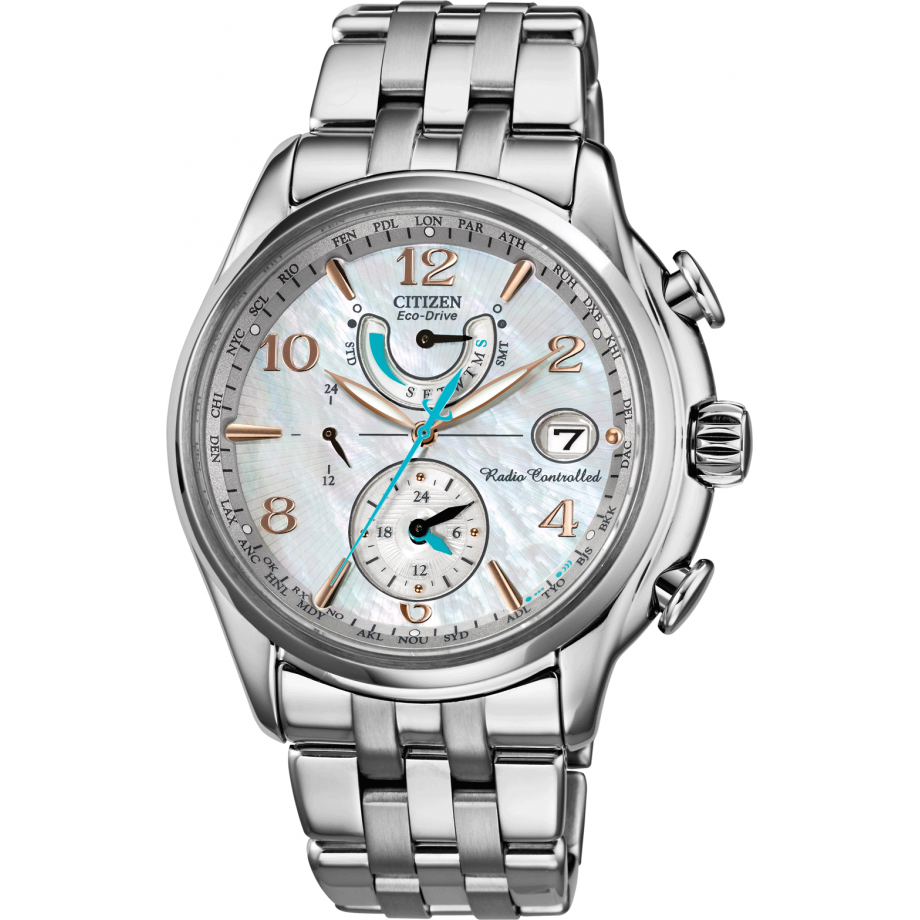 f08b22473486 Eco-Drive World Time A.T WR100 FC0000-59D Citizen Watch - Free Shipping